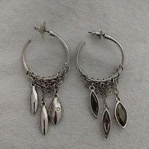 2 pairs of Swarovski earrings